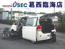 トヨタ ポルテ 1.5 X ウェルキャブ 助手席リフトアップシート車 Bタイプ TSS スマートキー 左自動ドア