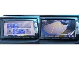 メモリーナビ ワンセグ DVD再生 バックカメラ Bluetooth接続対応
