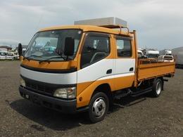 トヨタ トヨエース 平ボディ Wキャブ 7人乗り 2t積載 管理番号21224