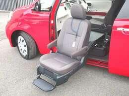 助手席電動リフトシートを展開時!