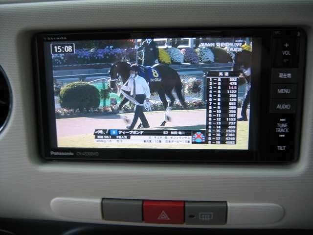 テレビはフルセグです。