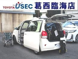 トヨタ ポルテ 1.5 X ウェルキャブ 助手席回転チルトシート車 Bタイプ TSS ICS スマートキー 左自動ドア
