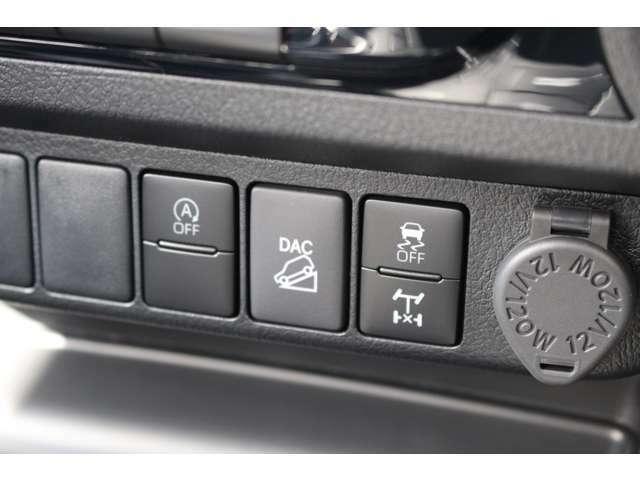 SUVならではの制御も勿論可能★