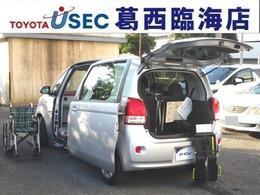 トヨタ ポルテ 1.5 X ウェルキャブ 助手席回転チルトシート車 Bタイプ TSSC キーレス 左側パワードア 車いす付