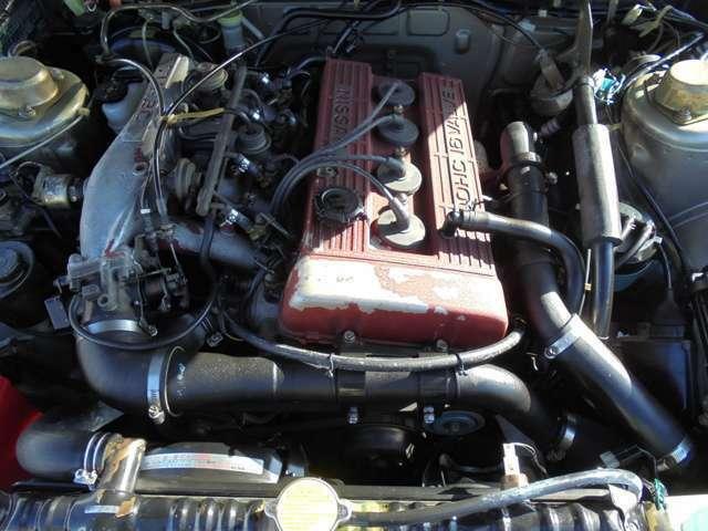 FJ20型エンジン!インタークーラーターボ!エンジンの調子も良いです!