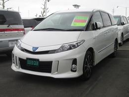 トヨタ エスティマハイブリッド 2.4 アエラス 4WD フリップダウンモニター