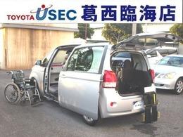 トヨタ ポルテ 1.5 X ウェルキャブ 助手席回転チルトシート車 Bタイプ TSSC キーレス 左側パワードア