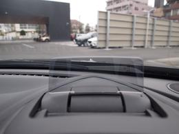 アクティブドライビングディスプレイで運転中視線をそらさず運転出来ます!!