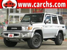 トヨタ ランドクルーザー70 4.0 4WD JAOSアルミ/地デジナビ/ガナド―ルマフラー