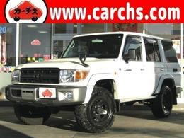 トヨタ ランドクルーザー70 4.0 4WD デフロック/電動ウィンチ/革調シートカバー
