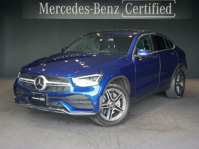 GLC220d 4MATIC Coupe ◆オプション◆ブリリアントブルー、AMGライン スライディングルーフ