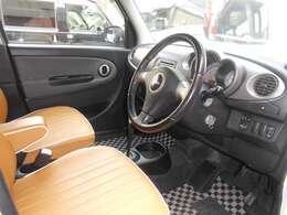 視界が良く運転しやすい設計になっております。インパネ回りも無駄がなくすっきりしたデザインです!