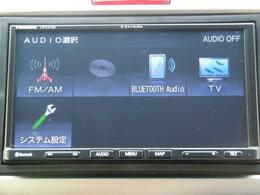 Bluetoothオーディオ機能も装備♪