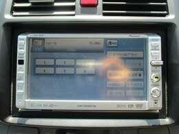 パイオニアカロッツェリアメモリーナビ(AVIC-DRZ80)です。DVD/CD/MD再生の機能も装備されとっても便利です!