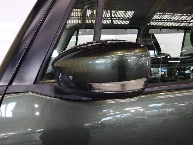 ウィンカー付ミラーなので対向車からの視認性も良く安心してお乗り頂けます♪