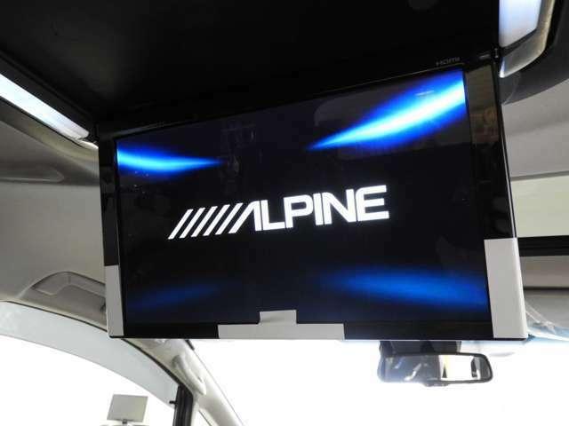 Aプラン画像:アルパイン12.8型リアモニター