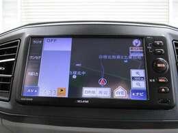 社外ナビゲーション付き♪ワンセグTV・CD・AM・FMが視聴可能☆使い勝手も良く、操作も簡単です!お気に入りの選曲で、通勤・ドライブを快適にどうぞ♪