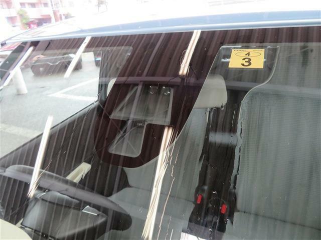 衝突軽減ブレーキ搭載で安全面もアップ