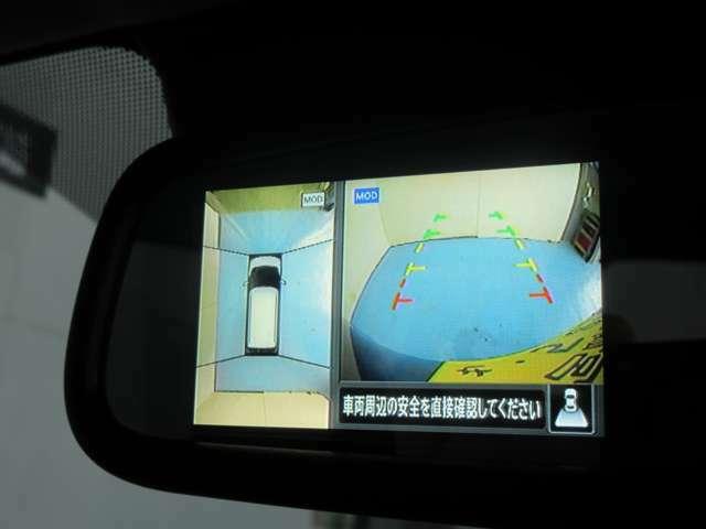 インテリジェント アラウンドビューモニター (移動物検知機能付)