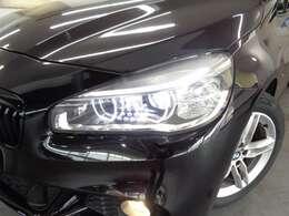 LEDヘッドライトがBMWの存在感を発揮します!