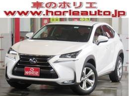 レクサス NX 300h バージョンL 4WD 1オナ純正SDナビPCS黒本革全席電動/Rゲート