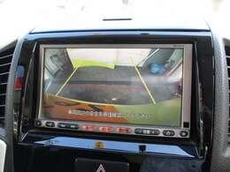 【バックカメラ】ギアをバックに入れると後方映像が確認できます。駐車時など安全確認に一役かいますね!
