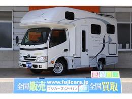 トヨタ カムロード ナッツRV クレソン ボーダーED タイプX FFヒーター 電子レンジ 冷蔵庫 SDナビ