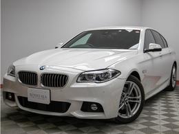 BMW 5シリーズ 523d Mスポーツ ディーゼルターボ 禁煙1オーナ―純正ナビBカメラ 純正18AW