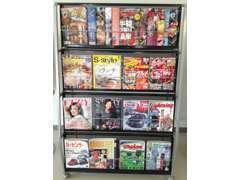 ※コロナ対策のため、雑誌コーナーは撤去中です。