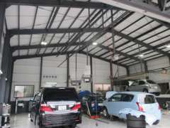指定自動車工場完備!車検・整備もお任せ下さい!車のことを熟知した当店スタッフが親身になって対応します!