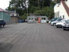 入口から見た店舗全景。