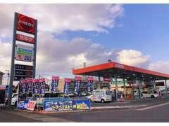 宗方給油所奥のスペースに常時展示車があります♪洗車や給油ついでにお気軽にご覧ください♪