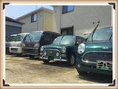 在庫は低価格な軽自動車を中心に揃えております。店名の通り、少しホンダ車が多いかもしれません。