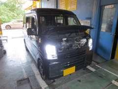 車検も事前の見積もりで、安心納得の整備が受けられます。