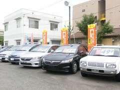 1BOX・ミニバン・コンパクト等、良質なお車を取り揃えております。