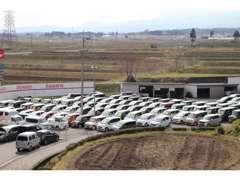 中古車はたくさんの車を展示しています!新車のご購入も出来ます☆