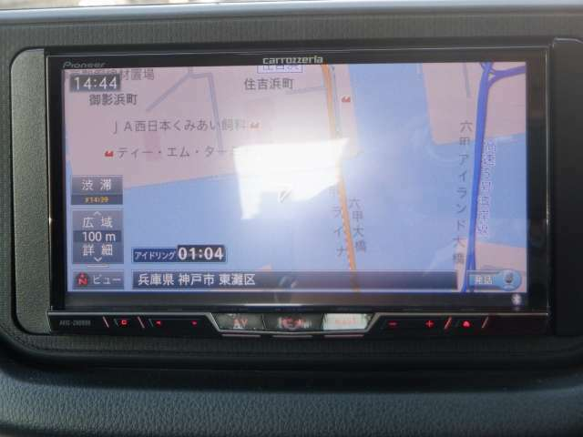 初めて来た道でも 簡単操作で安心ドライブ!!仲間と旅行の計画でも立てませんか?