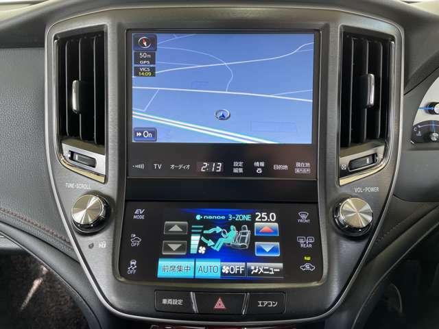 【純正HDDメーカーナビ】CD/DVD/Bluetooth/AM/FM/フルセグ(100194)運転がさらに楽しくなりますね♪