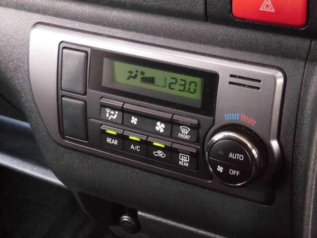 シンプルで使いやすいエアコン操作ボタンも擦れ等なく大変綺麗です!