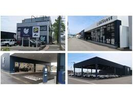 大型の指定整備工場を併設しております。車検・点検・鈑金修理などアフターサービスもお任せください。