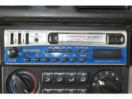 『カセットチューナー』装備。お好みのサウンドで楽しくドライブ♪