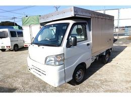 ダイハツ ハイゼットトラック 660 エアコン・パワステスペシャル 3方開 軽運送 特装車 幌車 観音扉