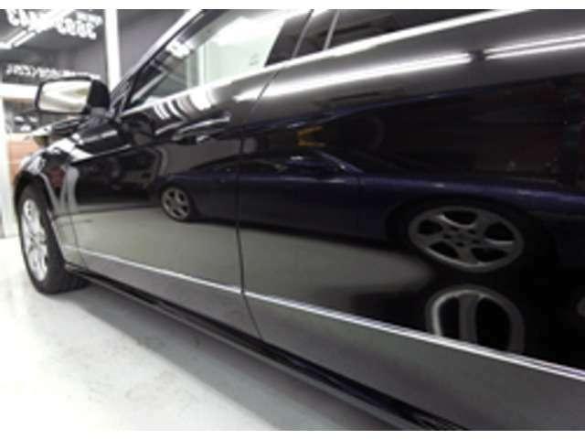 Bプラン画像:外装も綺麗だとすごい高級車に見えますよね!!それにヘッドライトも磨けばさらに高級感でますよ^¥^。この機会に試してみませんか!!笑