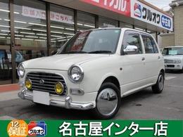 ダイハツ ミラジーノ 660 メモリアルエディション ミニライト レトロ風 純正オーディオ