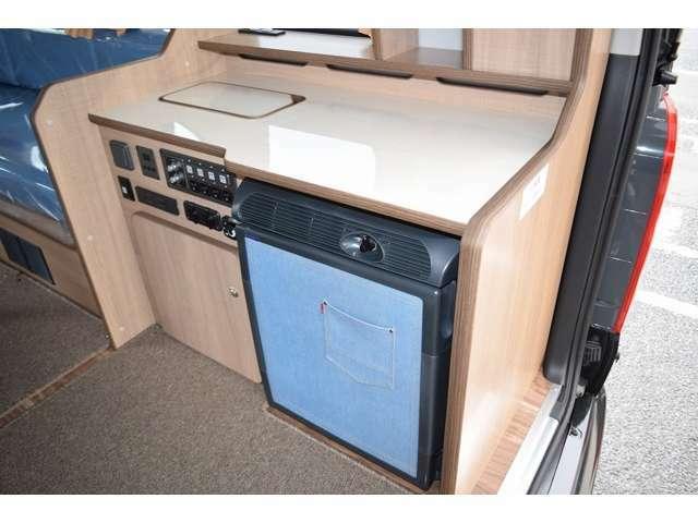 丁度良いサイズのキッチンスペース付になります!