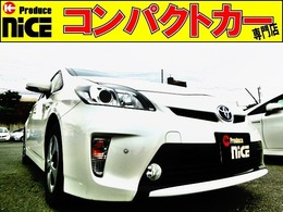トヨタ プリウス 1.8 G 後期型・Bluetooth・純正ナビ・電動シート