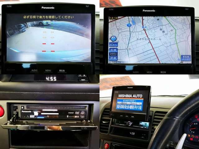 HDDナビ フルセグTV 換装済 DVD CD録音 バックカメラ Bluetoothも完備してます