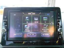 DVD、CD再生、地デジ、もちろんBluetooth通信も可能です!