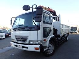 UDトラックス コンドル 3段クレーン付き 平 増トン 6.2t 回転グラップル付パルフィンガー