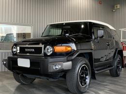 トヨタ FJクルーザー 4.0 ブラックカラーパッケージ 4WD 純正SDナビ フルセグ バックモニター